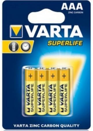 Батарейки Varta Superlife AAA 4 шт