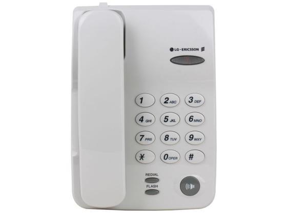 Телефон LG-Ericsson GS-460F.RUSCR серый телефон lg ericsson gs 460f спикер