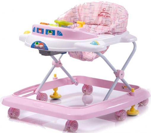 Ходунки Baby Care Tom&Mary (pink) эргорюкзак baby care hs 3183 pink