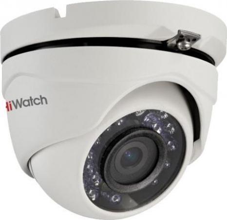 Камера видеонаблюдения Hikvision DS-T203 (2.8 mm) 2Мп уличная цветная 1/2.7 CMOS 3.6 мм ИК до 20 м ip камера hiwatch ds i122 4 mm 1 3мп уличная купольная мини ip камера ик подсветкой до 15м 1 3 cmos матрица объектив 4мм угол обзора 73 1° ме