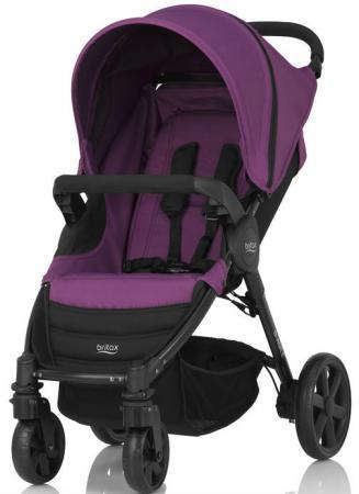 Коляска прогулочная Britax B-Agile 4 (mineral lilac) прогулочная коляска cool baby kdd 6688gb a lilac dairy