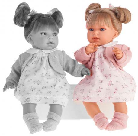 Кукла Munecas Antonio Juan Лорена в розовом 37 см со звуком 1558P munecas antonio juan кукла эвита в розовом 38 см munecas antonio juan