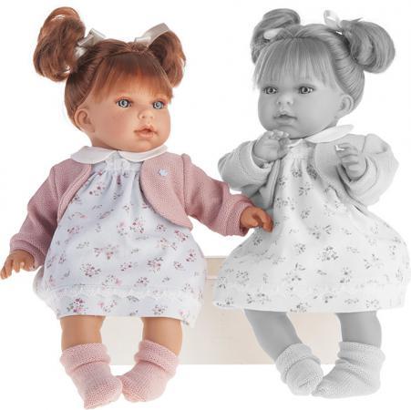 Кукла Munecas Antonio Juan Лорена 37 см со звуком 1558W карапуз кукла рапунцель со светящимся амулетом 37 см со звуком принцессы дисней карапуз