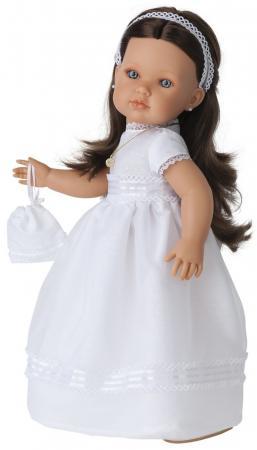 Кукла Munecas Antonio Juan Белла Первое причастие, брюнетка в кремовом 45 см 2800BR кукла munecas antonio juan белла первое причастие брюнетка в кремовом 2800br