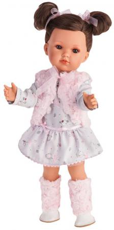 Кукла Munecas Antonio Juan Белла в розовом жилете 45 см 2807P