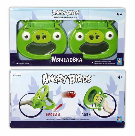 Спортивная игра 1Toy Angry Birds Мячеловка - Свинья Т56600