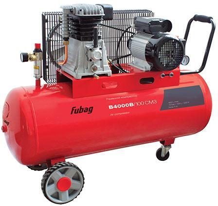 Компрессор Fubag B4000B/100 СМ3 поршневой 45681496 компрессор fubag b4800b 100 ct4 3 0квт