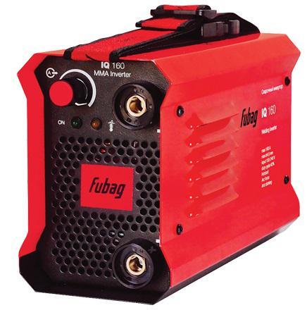 Аппарат сварочный Fubag IQ 160 инверторный 68 319 38090 скобы для пневмостеплера fubag 1 05х1 25 32мм 5000шт