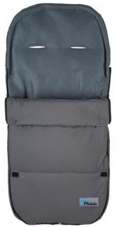 Летний конверт 95 x 45 Altabebe Microfibre (AL2400/dark grey) зимний конверт altabebe lambskin footmuff mt2200 lp navy blue 62