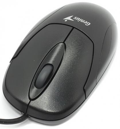 лучшая цена Мышь проводная Genius X-Scroll V3 чёрный USB