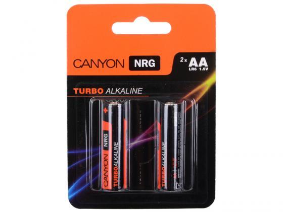 Батарейки Canyon NRG AA 2 шт S6ALKAA2