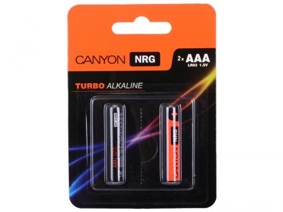 Батарейки Canyon NRG AAA 2 шт S6ALKAAA2 цены онлайн
