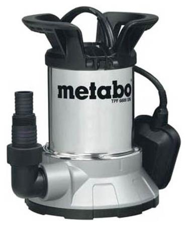 Насос дренажный Metabo TPF 6600 SN 6600л/час 450 Вт 0250660006 насос погружной metabo tpf 7000 s