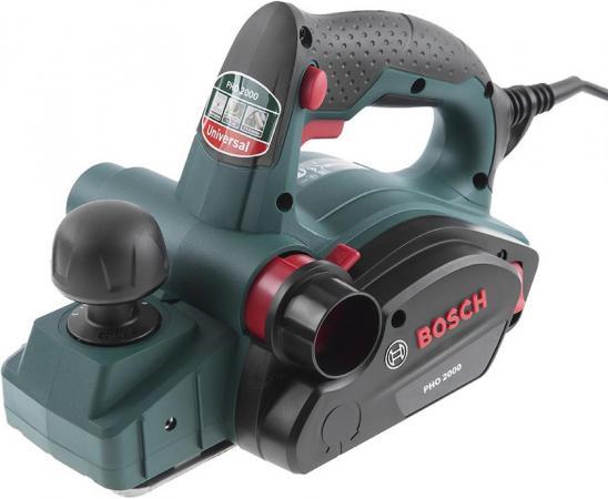 Рубанок Bosch PHO 2000 680Вт 82мм 06032A4120 рубанок bosch pho 3100 0603271120