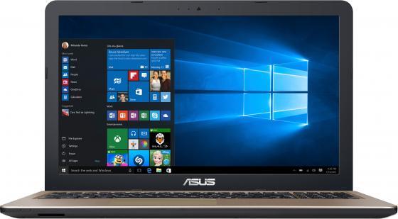 Ноутбук ASUS X540SA 15.6 1366x768 Intel Celeron-N3050 500Gb 2Gb Intel HD Graphics черный DOS 90NB0B31-M03510 ноутбук asus x553sa xx137d 15 6 intel celeron n3050 1 6ghz 2gb 500tb hdd 90nb0ac1 m05820