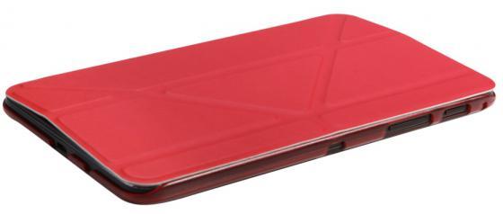 Чехол IT BAGGAGE для планшета SAMSUNG Galaxy Tab A 7 SM-T285/SM-T280 ультратонкий красный ITSSGTA7005-3 чехол it baggage для планшета ssamsung galaxy tab a 7 sm t285 sm t280 искус кожа белый itssgta70 0