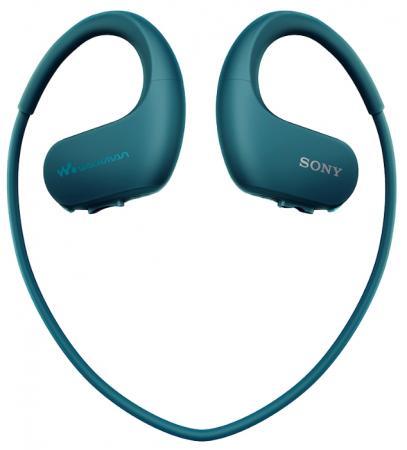 Плеер Sony NW-WS413 4Гб голубой плеер sony nw a35hn