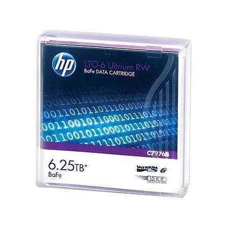 Ленточный картридж HP LTO6 Ultrium 6.25TB BaFe RW Data Tape C7976B цена
