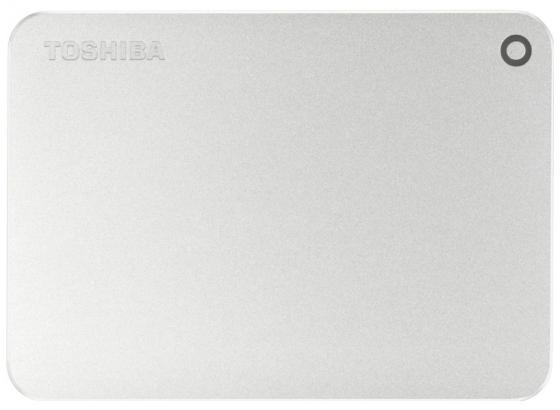 """все цены на Внешний жесткий диск 2.5"""" USB 3.0 2Tb Toshiba Canvio Premium серебристый HDTW120ECMCA онлайн"""