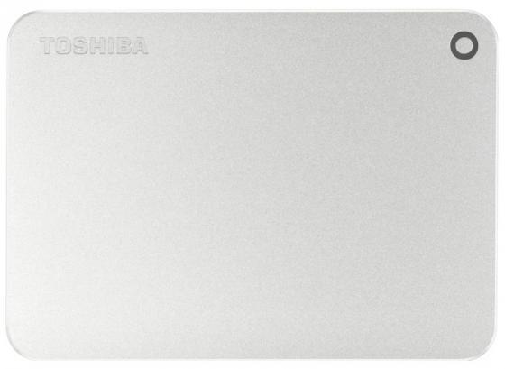 """все цены на Внешний жесткий диск 2.5"""" USB 3.0 1Tb Toshiba Canvio Premium серебристый HDTW110ECMAA онлайн"""