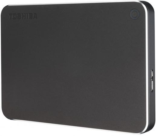 Внешний жесткий диск 2.5 USB 3.0 1Tb Toshiba Canvio Premium серый HDTW110EB3AA canvio premium toshiba