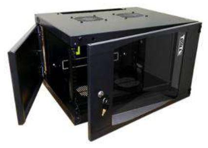 лучшая цена Шкаф настенный 9U Lanmaster TWT-CBWNG-9U-6X4-BK 550x450mm черный 60кг