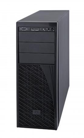 Серверный корпус 4U Intel P4000XXSFDR 460 Вт чёрный корпус серверный