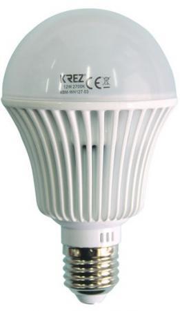 Лампа светодиодная колба KREZ E27 12W 2700K 4BM-WH127-03 все цены