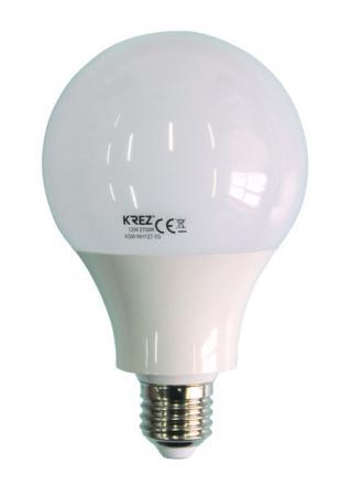 Лампа светодиодная шар KREZ E27 12W 2700K все цены