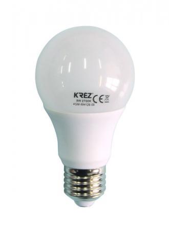Лампа светодиодная шар KREZ E27 9W 2700K 4GM-WH126-05 стоимость