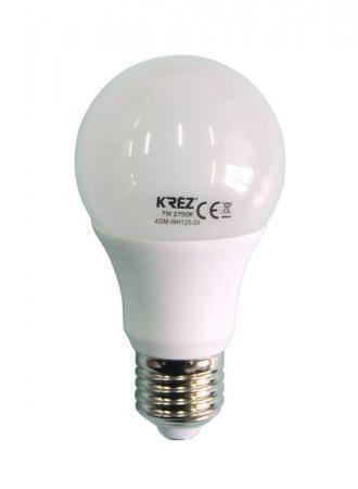 Лампа светодиодная шар KREZ E27 7W 2700K 4GM-WH125-04 стоимость