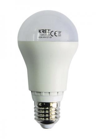 Лампа светодиодная груша KREZ E27 12W 2700K 4GM-WH127-06 стоимость