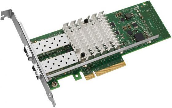 Адаптер Lenovo X520-SR2 Dual Port 10Gb SR/SFP+ for ThinkServer and SystemX 0C19487 адаптер dell intel x520 dp 10gb da sfp server fh 540 bbdr