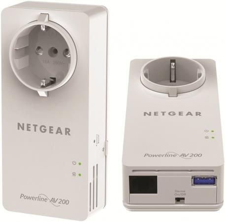 Комплект адаптеров Powerline Netgear XAUB2511-100PES