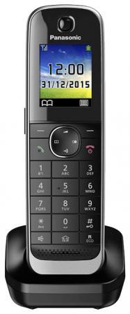 Дополнительная трубка Panasonic KX-TGJA30RUB черный радиотелефон panasonic kx tg8551 черный kx tg 8551 rub