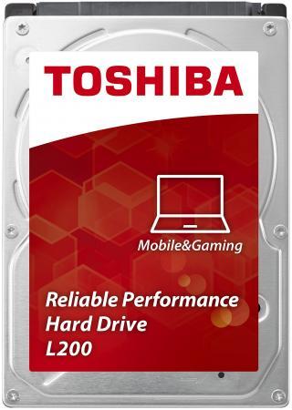 Жесткий диск для ноутбука 2.5 500Gb 5400rpm 8Mb cache Toshiba L200 SATAII HDWJ105EZSTA