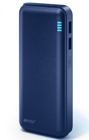 все цены на Портативное зарядное устройство HIPER Power Bank SP12500 12500мАч синий онлайн
