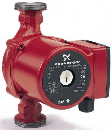 Насос циркуляционный Grundfos UPS 25/40 с гайками насос для воды grundfos unilift kp 250 a1