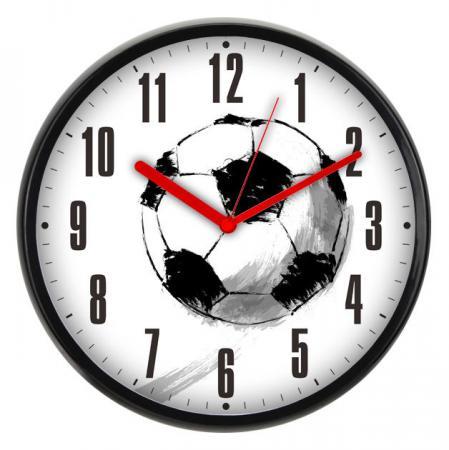 Часы настенные BURO WallC-R29P/football