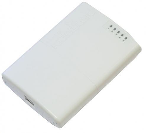 Маршрутизатор MikroTik PowerBOX r2 5xLAN PoE белый RB750P-PBr2