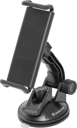Автомобильный держатель Defender CH-204+ для смартфонов шириной 115-156мм черный 29204 автомобильный держатель defender ch 108 для смартфонов шириной 50 105мм 29108