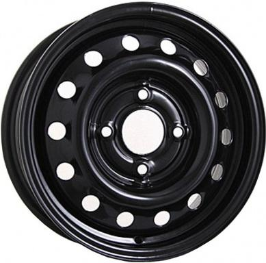 Диск Magnetto Ford Ecosport 6xR16 4x108 мм ET37.5 Black литой диск n2o y253 7x15 4x108 d73 1 et25 bfp