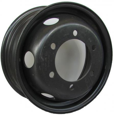 Диск Mefro ЗИЛ-5301 6.5xR16 6x205 мм ET123 Черный штампованный диск mefro 516003 6x16 5x114 3 d67 et51 черный