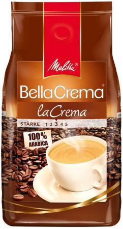 цена Кофе в зернах Melitta BC La Crema 1000 грамм онлайн в 2017 году