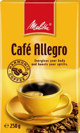 Кофе Melitta Allegro 250гр жареный молотый 00285