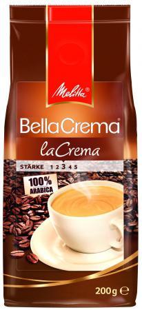 Кофе Melitta BellaCrema Cafe LaCrema 200гр жареный в зернах 00800 цены