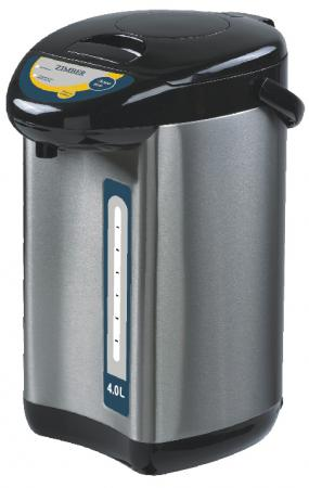 Чайник Zimber ZM-11127 750 Вт чёрный 4 л металл чайник zimber zm 11129 750 вт 5 л металл чёрный