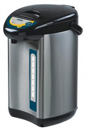 Термопот Zimber ZM-11128 750 Вт 4 л нержавеющая сталь чёрный чайник zimber zm 11129 750 вт 5 л металл чёрный