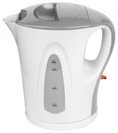 Чайник Zimber ZM-11104 2200 Вт 1.7 л пластик белый серый