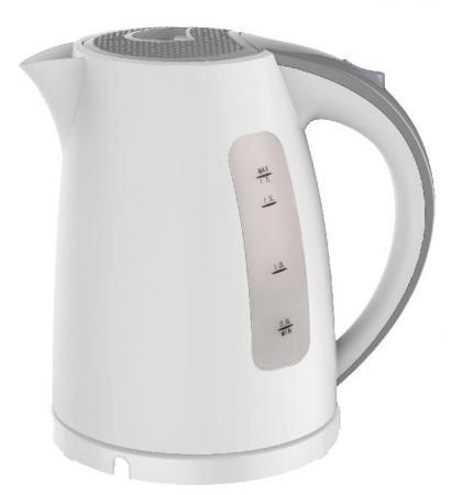 Чайник Zimber ZM-11105 2200 Вт 1.7 л пластик белый серый